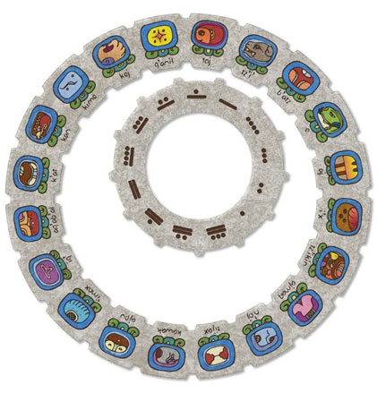 Calendario Tzolkin.Calendario Father Fire